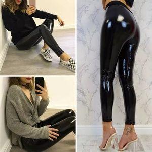 Very sexy latex like pants leggings